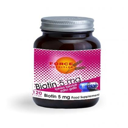 Force Nutrition Biotin 5 mg 120 Tablet
